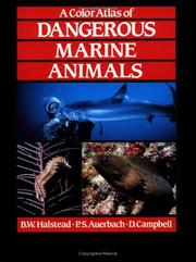 Cover of: color atlas of dangerous marine animals | Bruce W. Halstead