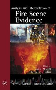 Cover of: Analysis and Interpretation of Fire Scene Evidence (Methods in Analytical Toxicology) |