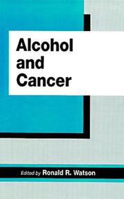 Cover of: Alcohol and cancer