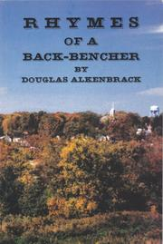 Cover of: Rhymes of a Back-Bencher |