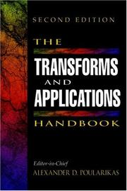 Cover of: The transforms and applications handbook |