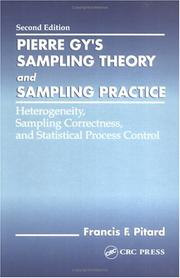 Pierre Gy's sampling theory and sampling practice by Francis F. Pitard