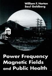 Cover of: Power frequency magnetic fields and public health