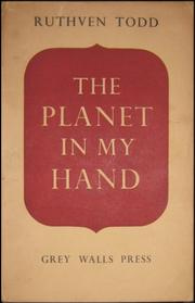 Cover of: The planet in my hand