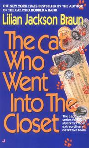 Cover of: The cat who went into the closet | Jean Little