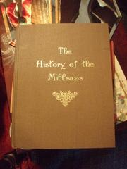 Cover of: The history of the Millsaps by Luther Wayne Capooth