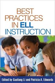 Cover of: Best practices in ELL instruction |