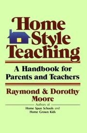 Cover of: Home style teaching