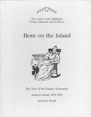 Cover of: Born on the Island | Jennifer L. Bunting