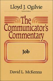 Cover of: The communicator's commentary