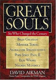 Cover of: Great souls | David Aikman
