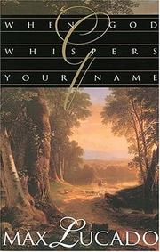 Cover of: When God whispers your name