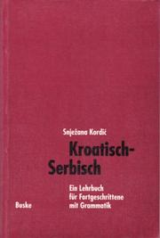 Cover of: Kroatisch-Serbisch