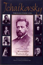 Cover of: Tchaikovsky through others' eyes