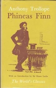 Cover of: Phineas Finn |