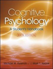 Cognitive Psychology by Michael W. Eysenck, Mark T. Keane