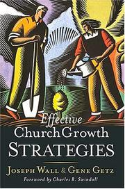 Cover of: Effective church growth strategies