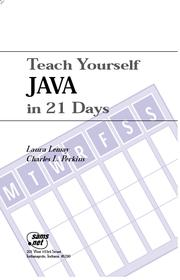 Cover of: Teach_your_self_java_in_21_days |