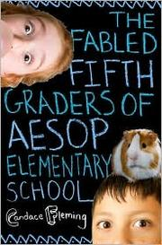 Cover of: The fabled fifth graders of Aesop Elementary School