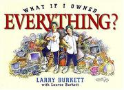 Cover of: What if I owned everything?