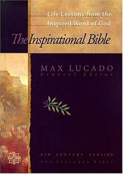 Cover of: The inspirational Bible |