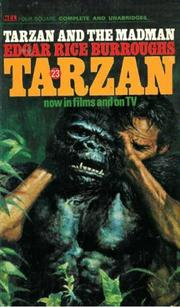 Cover of: Tarzan and the madman