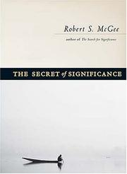 Cover of: The Secret of Significance