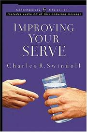 Cover of: Improving your serve | Charles R. Swindoll