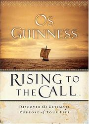Cover of: Rising to the Call