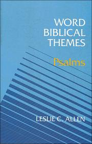 Cover of: Word Biblical Themes | Leslie C. Allen
