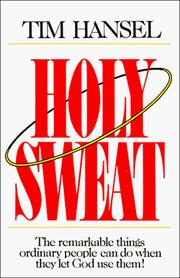 Cover of: Holy sweat