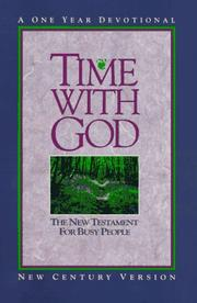 Cover of: Time With God |