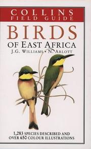 Cover of: A field guide to the birds of East Africa | John George Williams