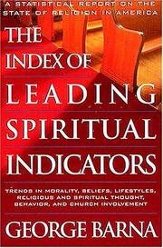 Cover of: Index of leading spiritual indicators