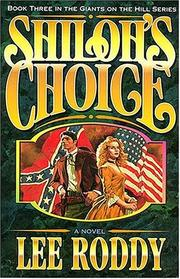 Cover of: Shiloh's Choice