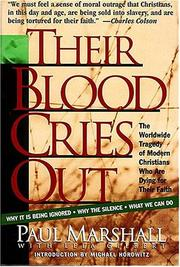 Cover of: Their Blood Cries Out | Paul A. Marshall