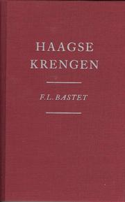 Cover of: Haagse krengen