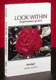 Cover of: LOOK WITHIN by Dadaji