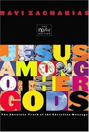 Cover of: Jesus Among Other Gods: The Absolute Claims of the Christian Message