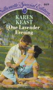 Cover of: One lavender evening. | Karen Keast