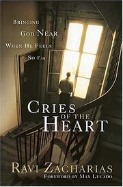 Cover of: Cries of The Heart: bringing God near when He feels so far