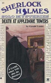 Cover of: Death at Appledore Towers | Gerald Lientz
