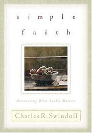 Simple faith by Charles R. Swindoll