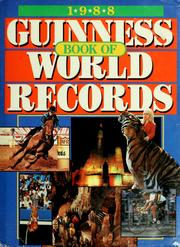 1988 guinness book of world records open library cover of 1988 guinness book of world records by ccuart Gallery