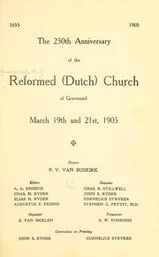 Cover of: 250th anniversary of the Reformed (Dutch) Church of Gravesend | Reformed Dutch Church (Gravesend, New York, N.Y.)