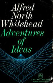 Cover of: Adventures of ideas