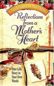 Cover of: Reflections From A Mother