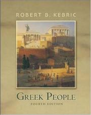 Cover of: Greek people
