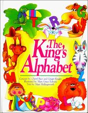 Cover of: The King's Alphabet: a Bible book about letters