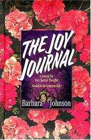 Cover of: The Joy Journal